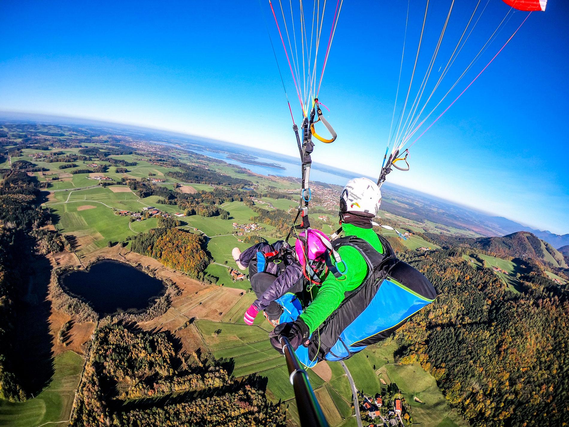 Tandemfliegen-Chiemgau Erlebnisflug