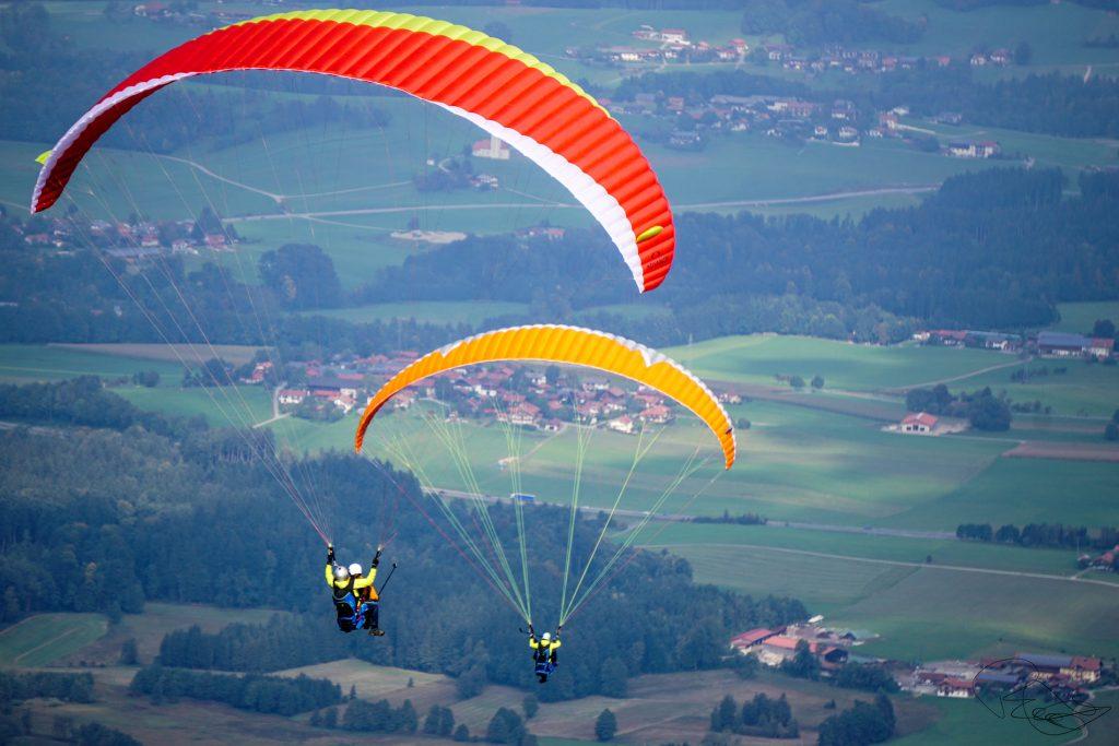 Erlebnisgeschenk-Partner-Tandem-Gleitschirm-doppelflug-Chiemgau