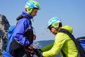 Einweisung Paragliding Tandemfliegen Chiemgau