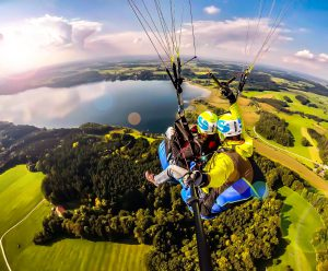 Tandemfliegen-Chiemgau Thermikflug All-inclusive