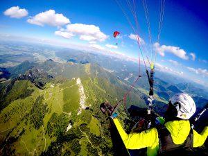 Tandemfliegen-Chiemgau-Panorama