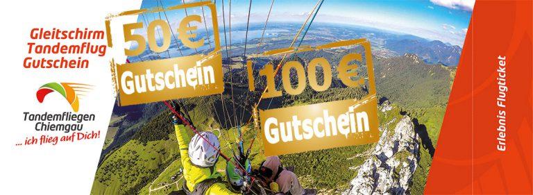 Tandemfliegen-Chiemgau-Wertgeschenk-Gutsche