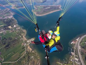Chiemsee Paragliding Tandemflug