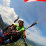 Paragliding Tandemflug Kampenwand Koenig