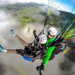 Tandemfliegen-Chiemgau-Klassiker-Erlebnisflug-Geschenkerlebnis-Wolkenflug