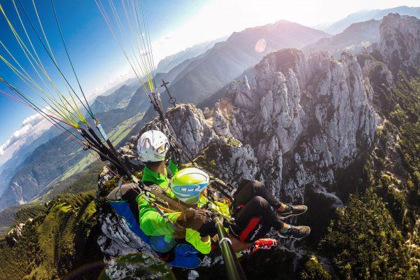 Tandemflug-Panorama-Kampenwand-360Grad-Gipfelflug