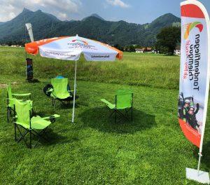 Tandemfliegen-Chiemgau-Landeplatz-Paragliding-Gleitschirmflug