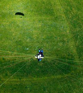 Landeanflug_Partner_Tandem_Paragliding