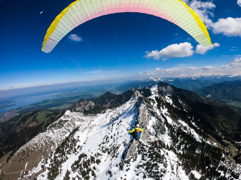 Paragliding_Action_Plus_Flycam_Chiemgau_Kampenwand