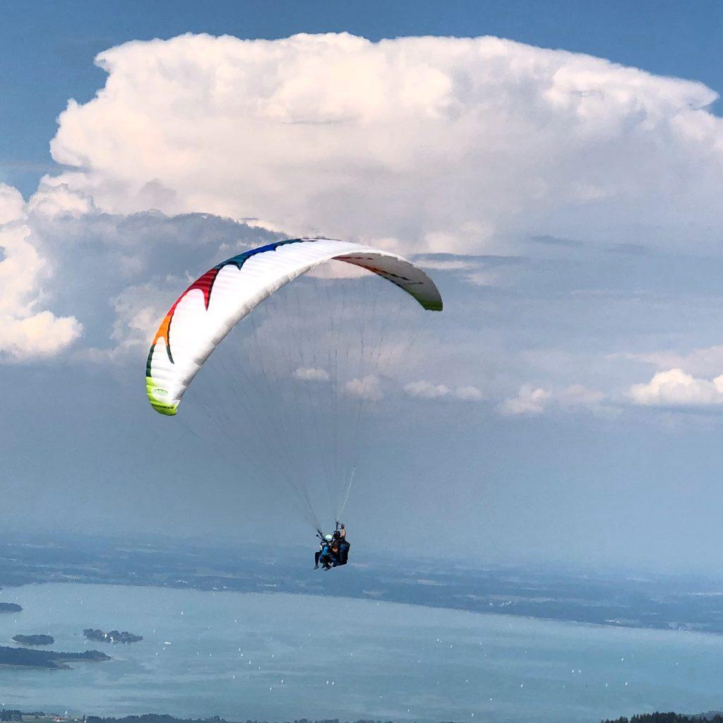 Tandemflug_Familien_Gruppen_Event_Paragliding_Gleitschirmflug_Chiemgau